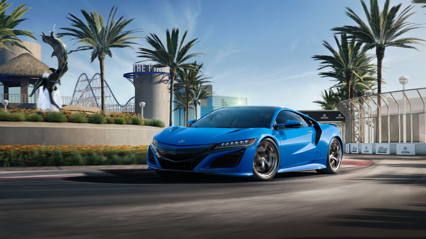 2021 Acura NSX Now Available In a Cool Long Beach Blue Color