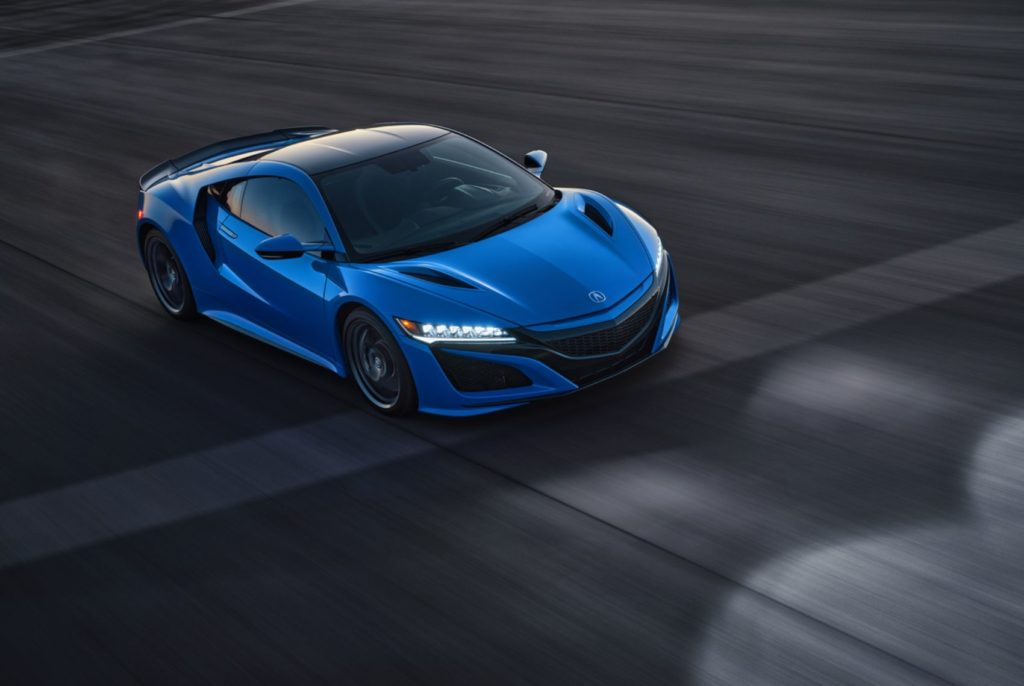 2021 Acura NSX in Long Beach Blue.