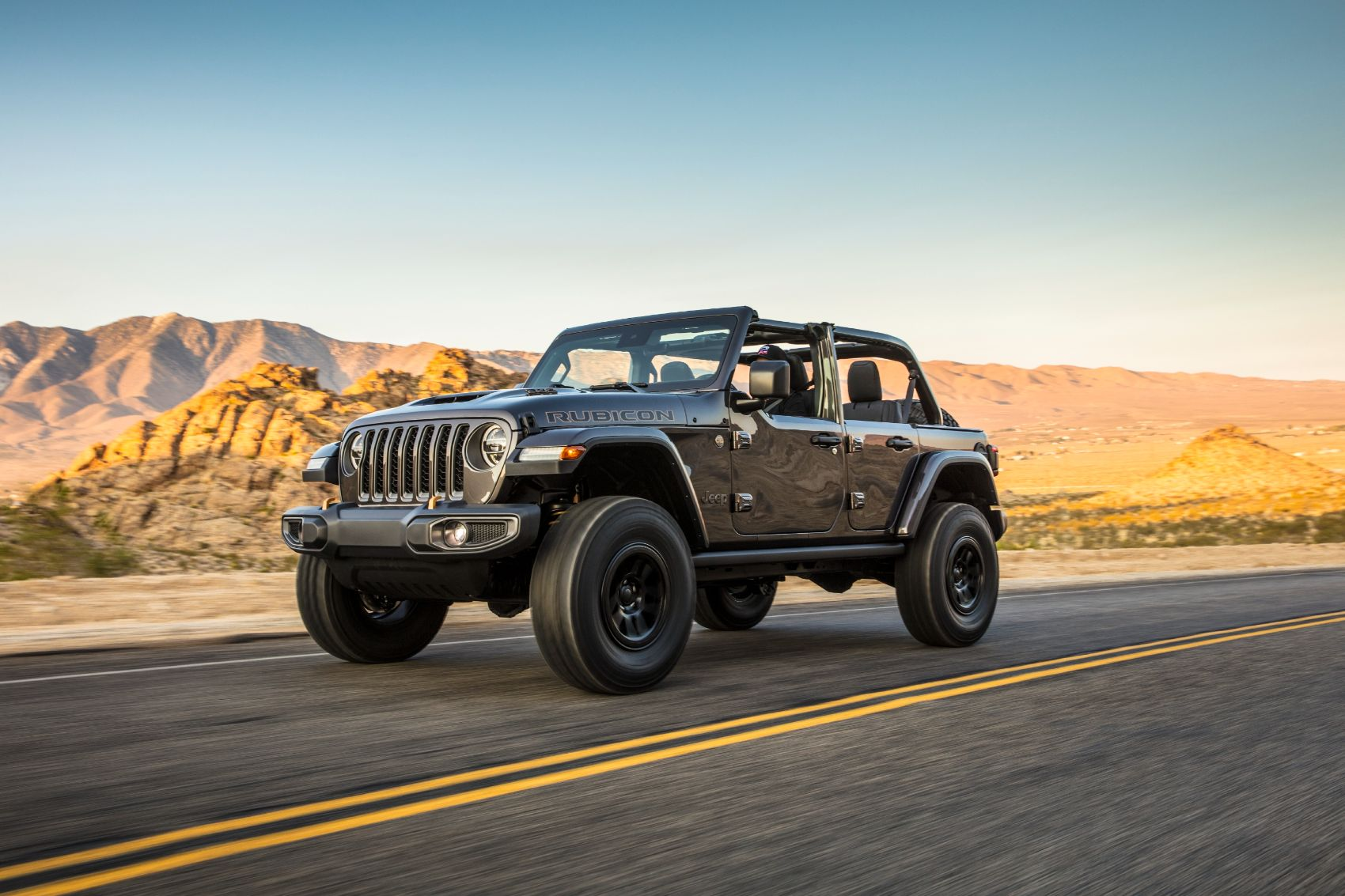 2021 Jeep Wrangler Rubicon 392: Big Hemi Wrangler Reports for Off-Road Duty