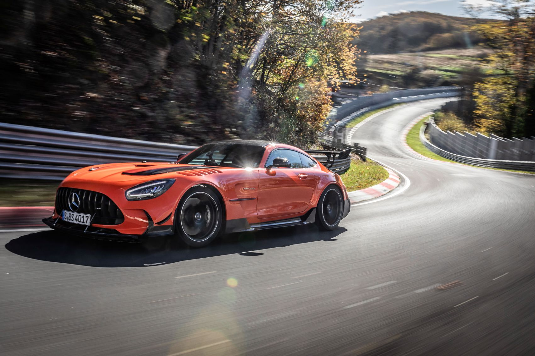 2021 Mercedes-AMG GT Black Series Scores Record Lap On The Nürburgring Nordschleife