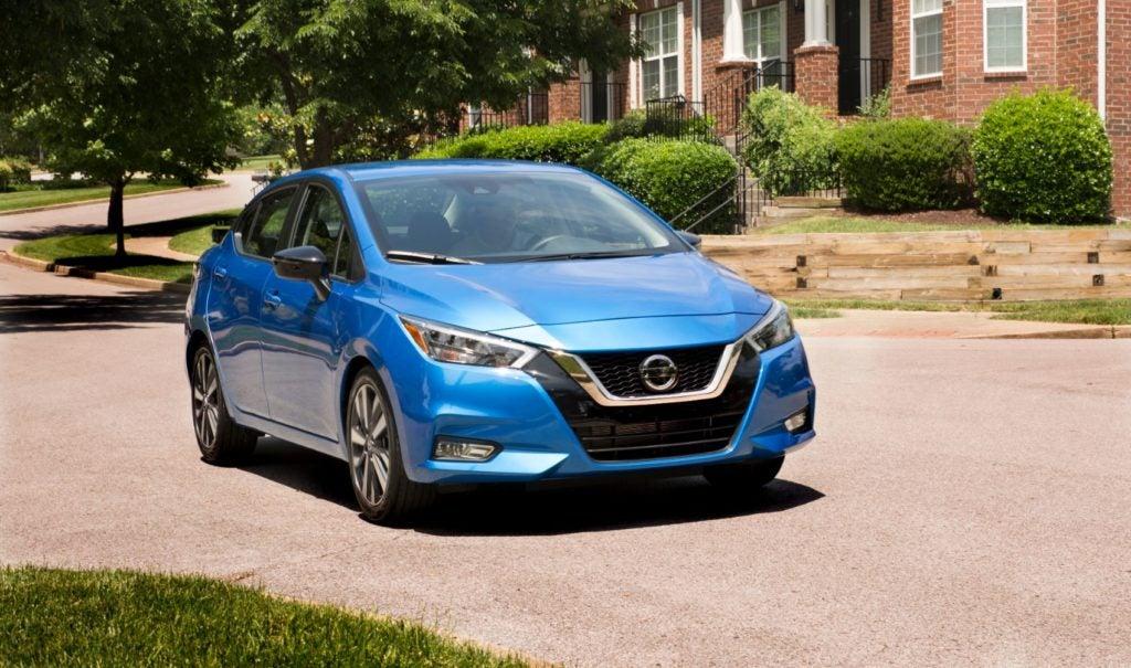 2021 Nissan Versa.