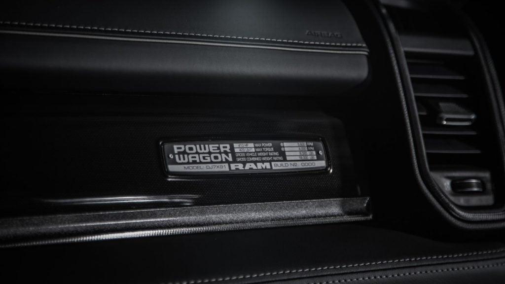 2021 Ram Power Wagon 75th Anniversary Edition 12
