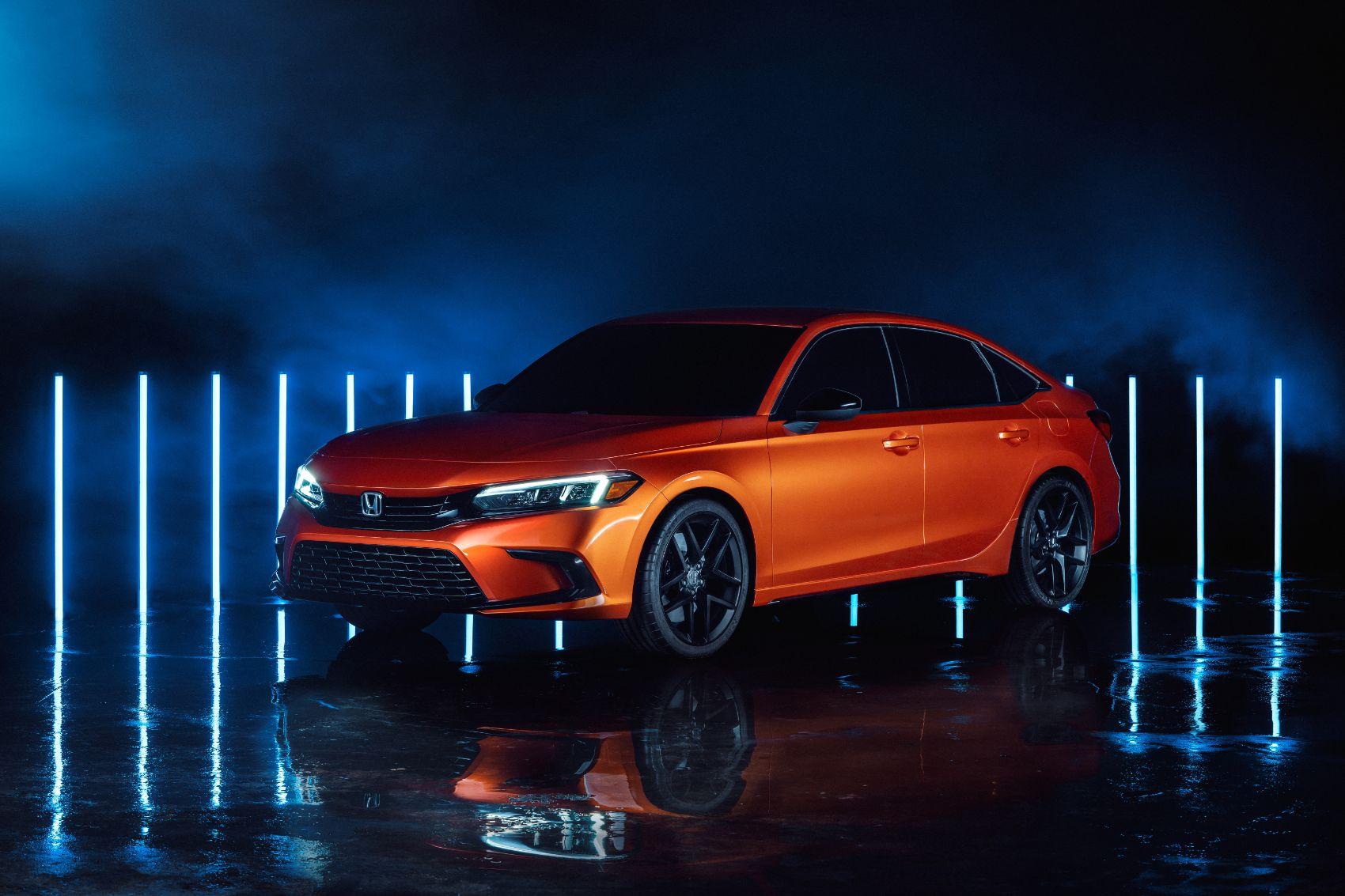 2022 Honda Civic Prototype 1