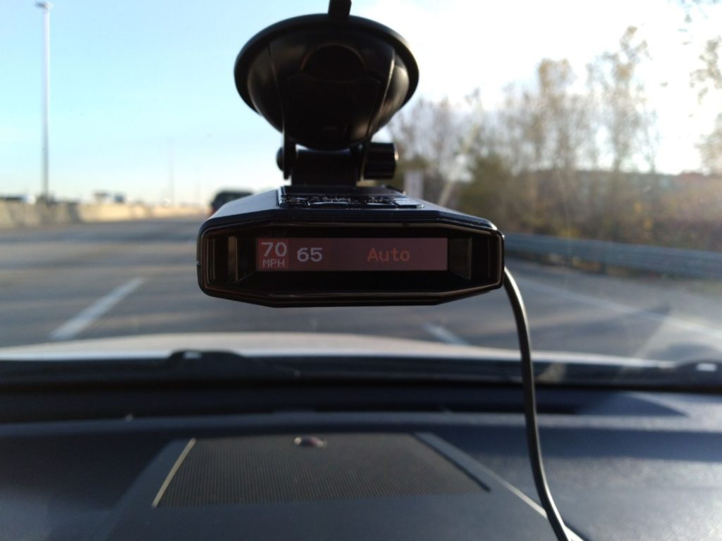 Escort MAX 3 radar detector.