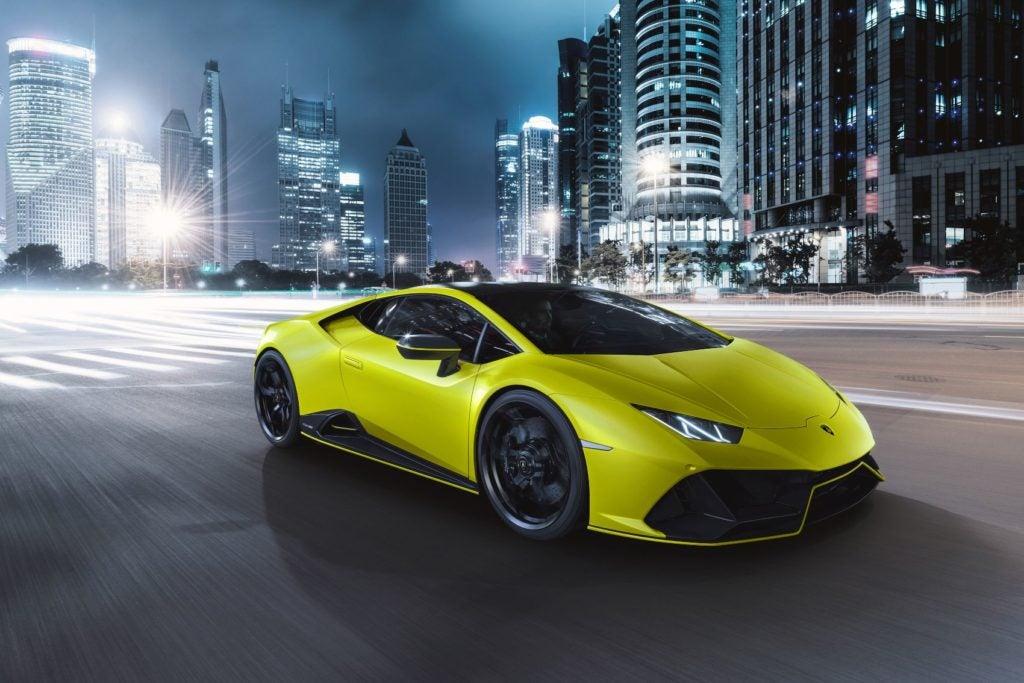 Lamborghini Huracan EVO Fluo Capsule 18