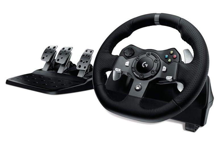 Logitech G920 Wheel Pedals 1