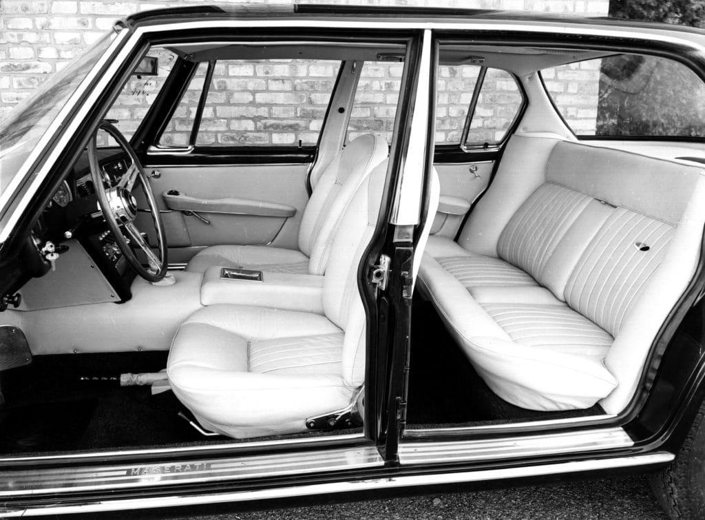 Maserati Quattroporte Gen 1 Series II interior full 1