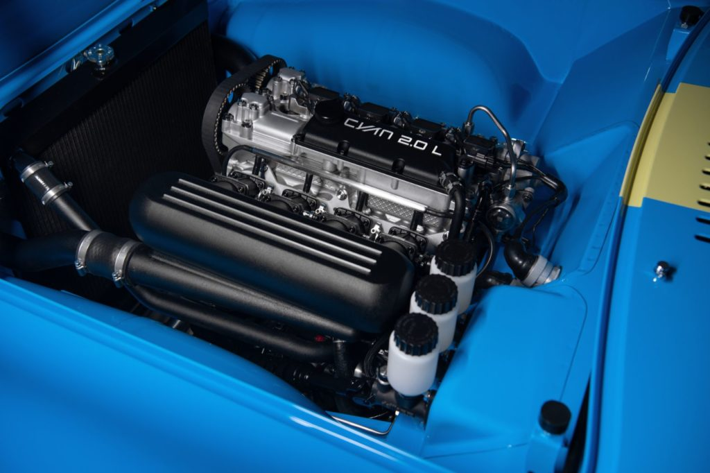 Volvo P1800 Cyan engine.