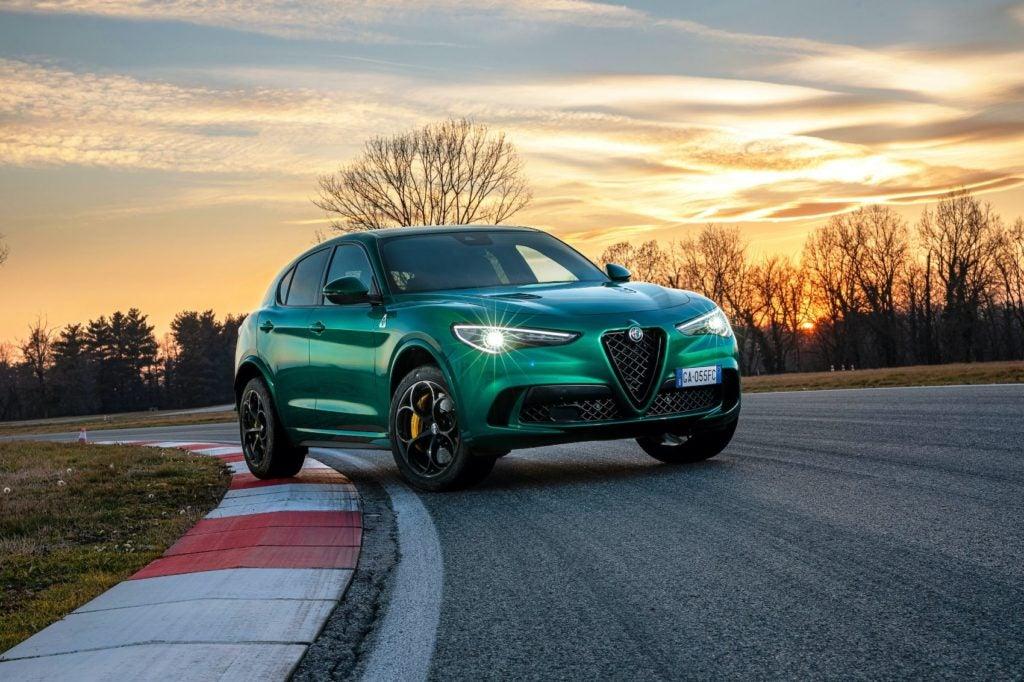 2021 Alfa Romeo Stelvio Quadrifoglio.