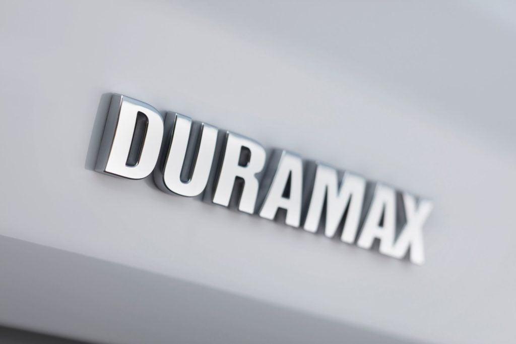 Duramax logo.