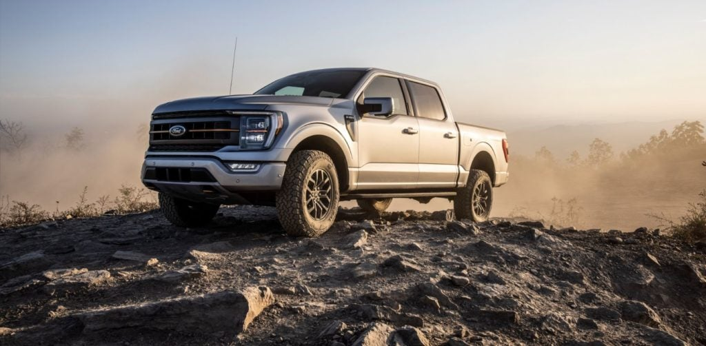 2021 Ford F-150 Tremor.