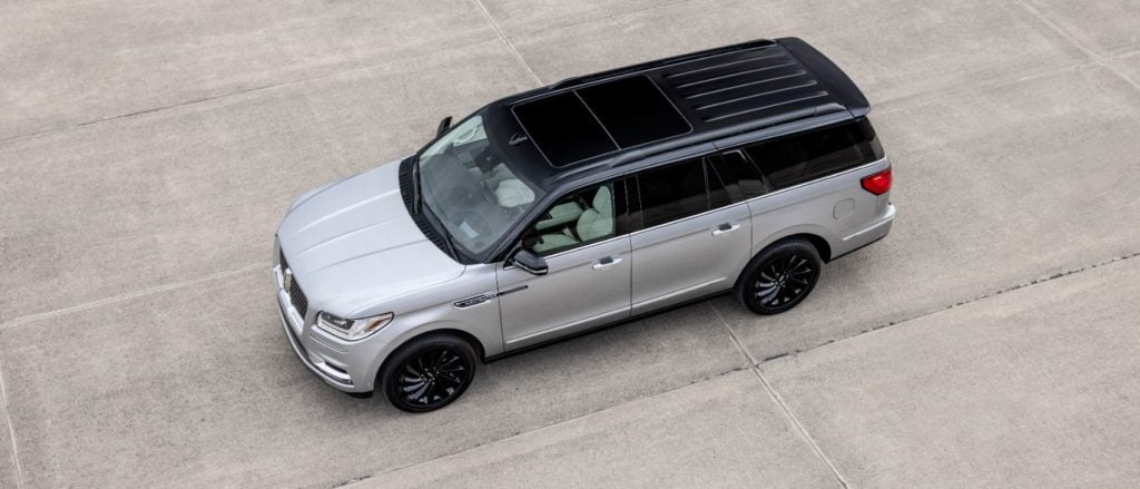 2021 Lincoln Navigator Black Label Special Edition.