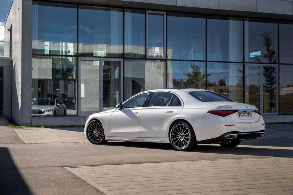 2021 Mercedes Benz S Class 1