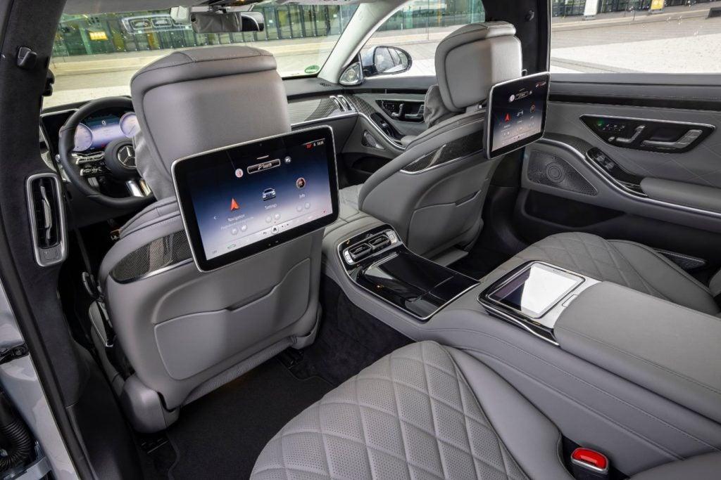 2021 Mercedes Benz S Class 11