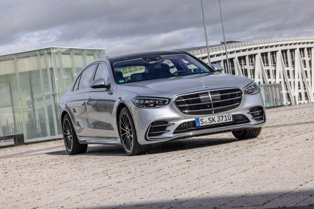 2021 Mercedes Benz S Class 15