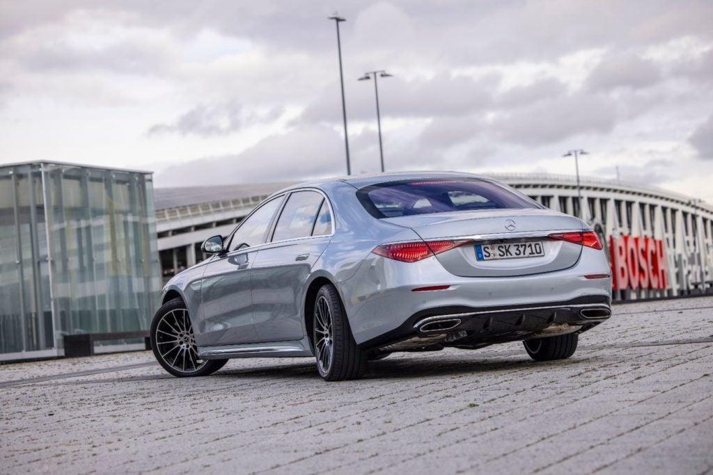 2021 Mercedes Benz S Class 17