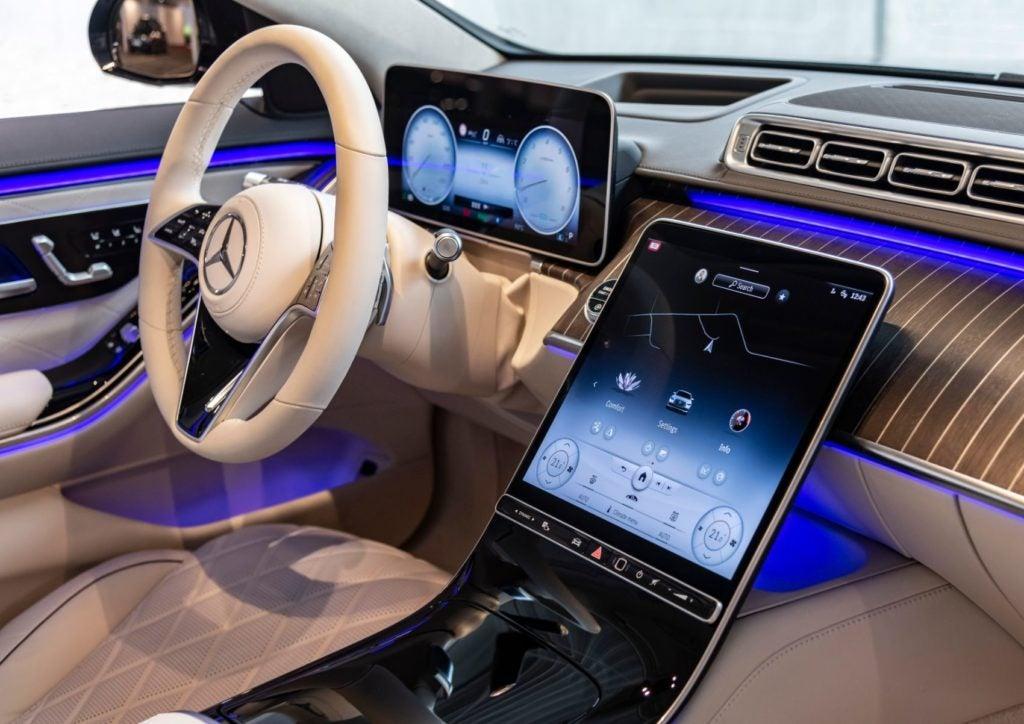2021 Mercedes Benz S Class 23