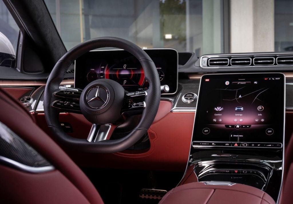 2021 Mercedes Benz S Class 4