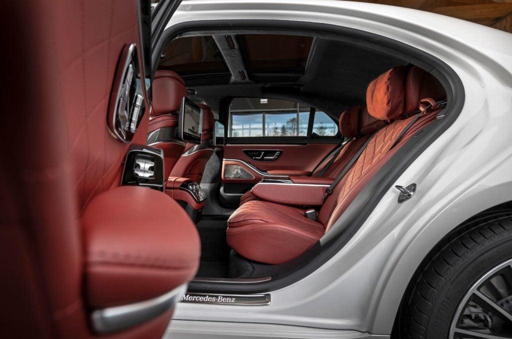 2021 Mercedes Benz S Class 5