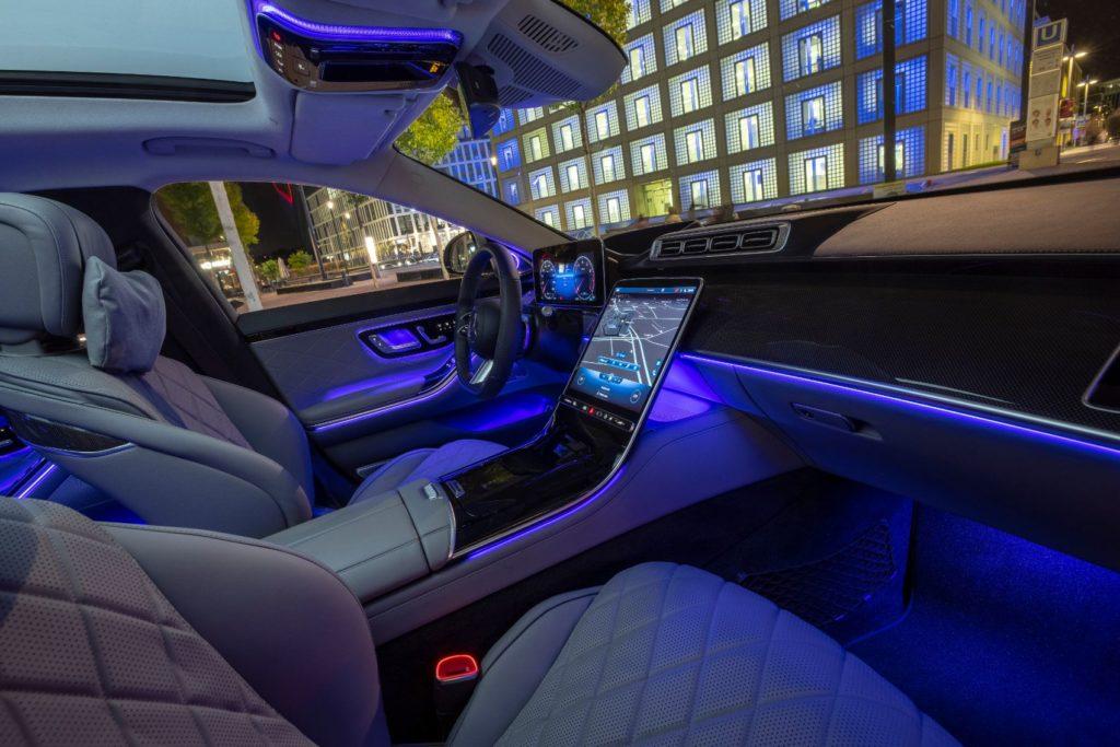 2021 Mercedes Benz S Class 8