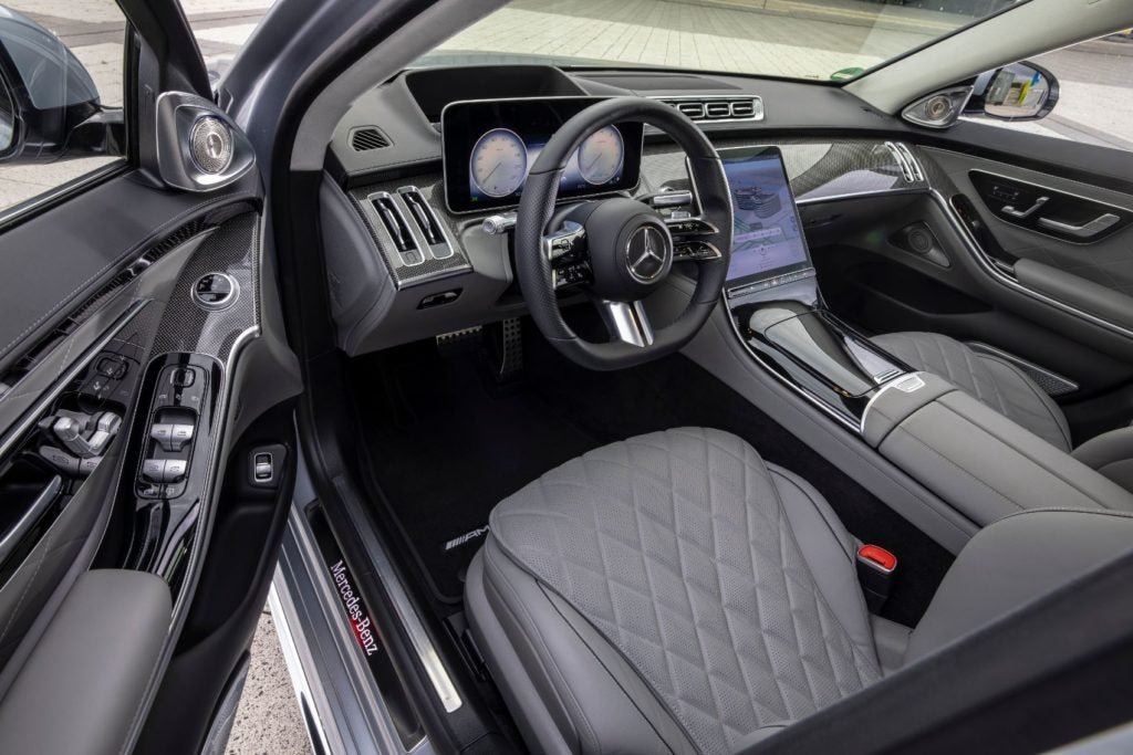 2021 Mercedes Benz S Class 9