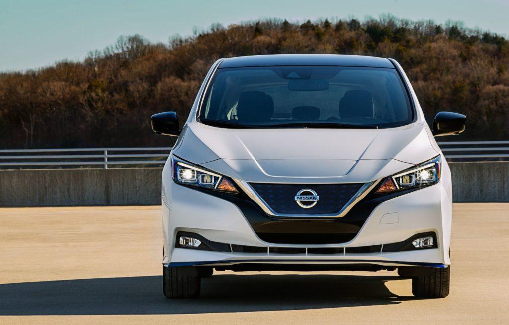 2021 Nissan LEAF 9