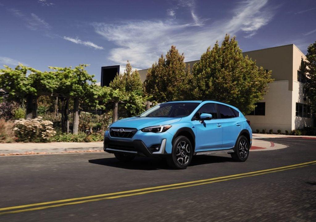 2021 Subaru Crosstrek Hybrid.