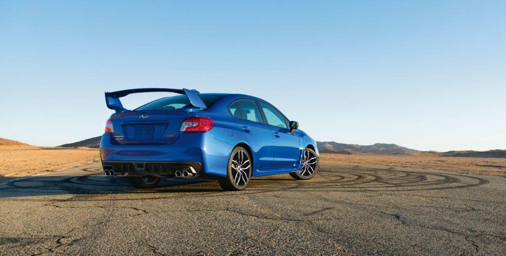 2021 Subaru WRX STI.