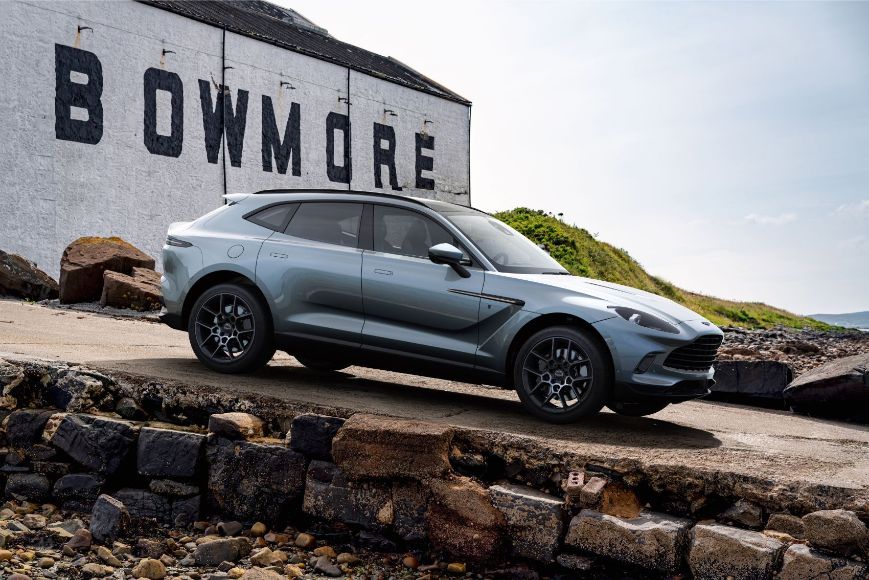 Aston Martin DBX Bowmore Edition: Limited DBX Includes Tour of Scottish Countryside & Islay Woollen Mill