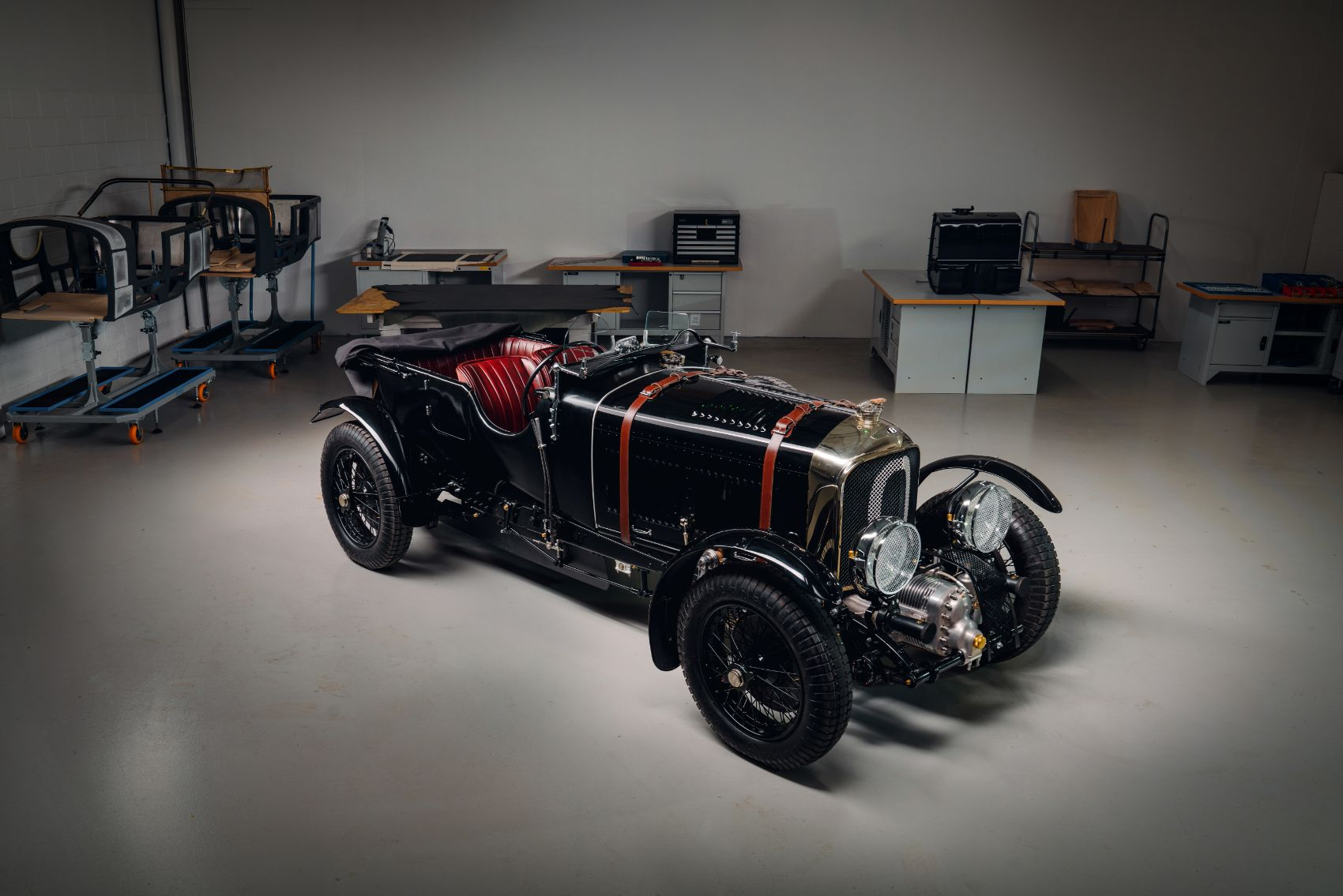 Enter Car Zero: First Bentley Blower in 90 Years is Also World's First Pre-War Continuation Series