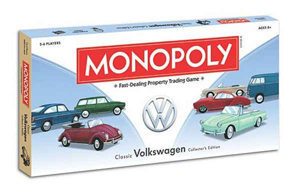 Classic Volkswagen Collector's Edition Monopoly.