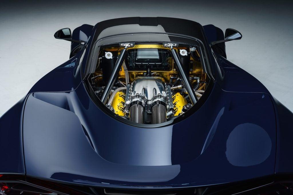 Hennessey Venom F5 engine.