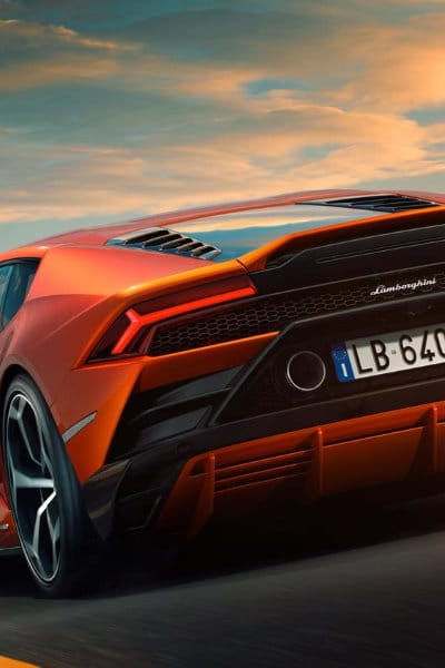Lambo Huracan rear - small