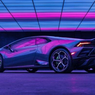 Lamborghini Huracan EVO RWD Lady Gaga 3