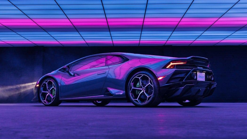Win The Lamborghini Huracán EVO RWD From Lady Gaga's 911 Music Video