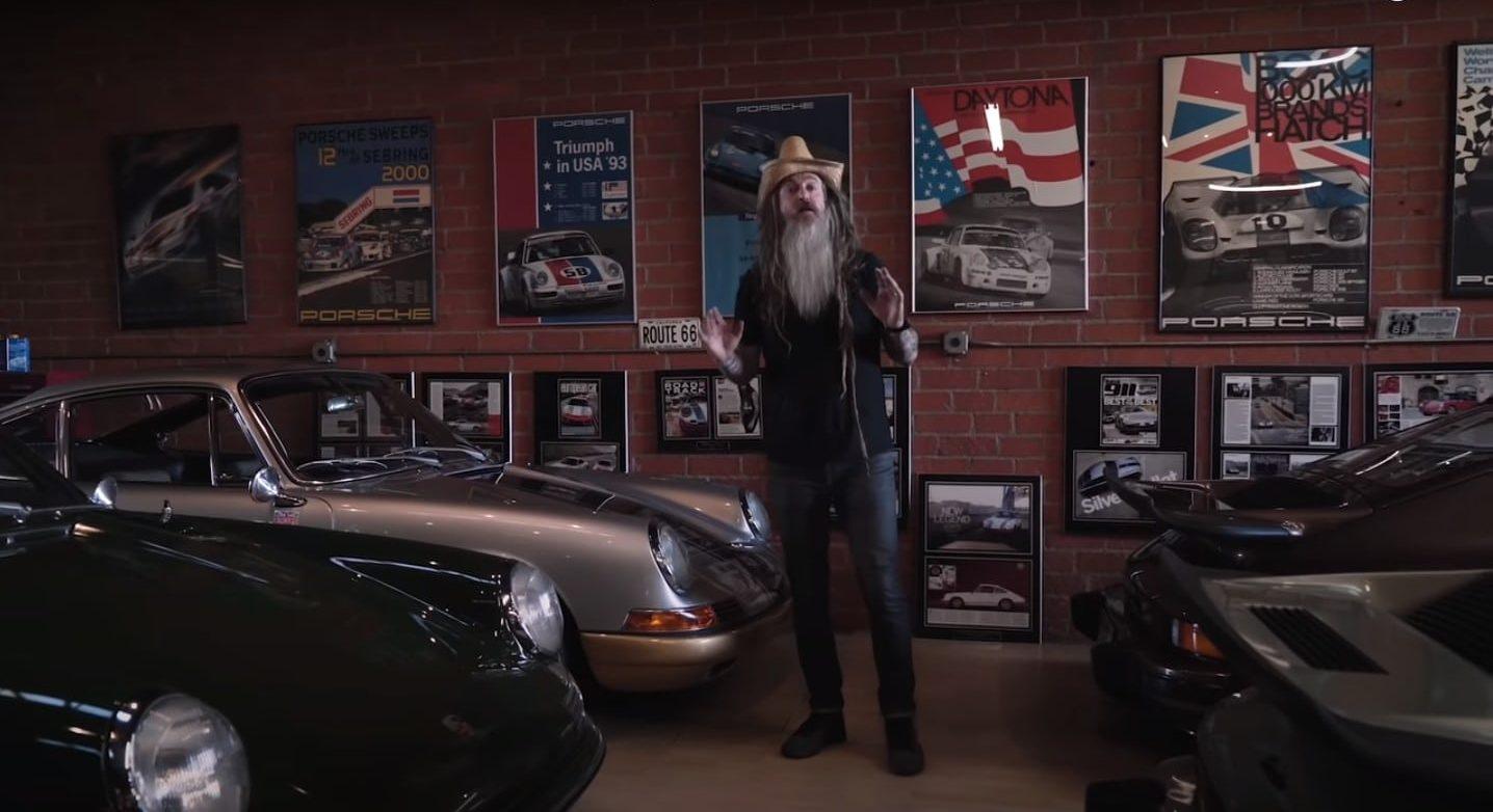 Inside the Garage of Porsche Collector Magnus Walker with the Petersen Automotive Museum