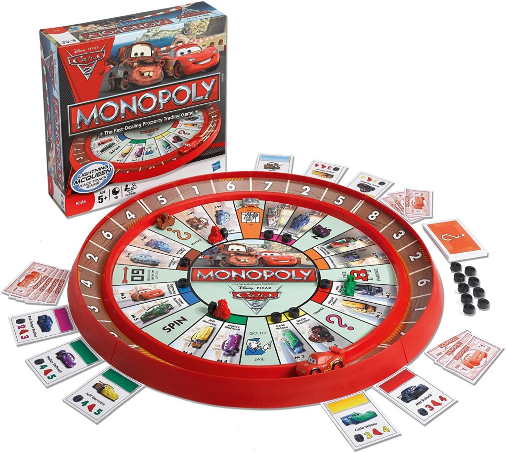 Monopoly Cars 2 Race Track