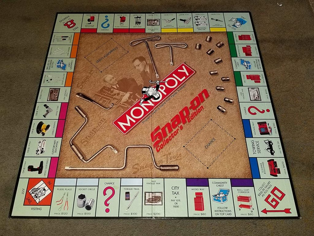 Snap-On Tools Collector's Edition Monopoly