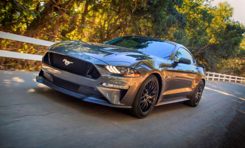 2021 Ford Mustang. (Top five wheelchair-friendly vehicles - 2021).