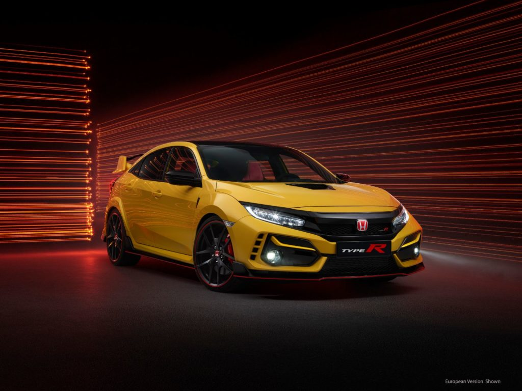 2021 Honda Civic Type R Limited Edition 1