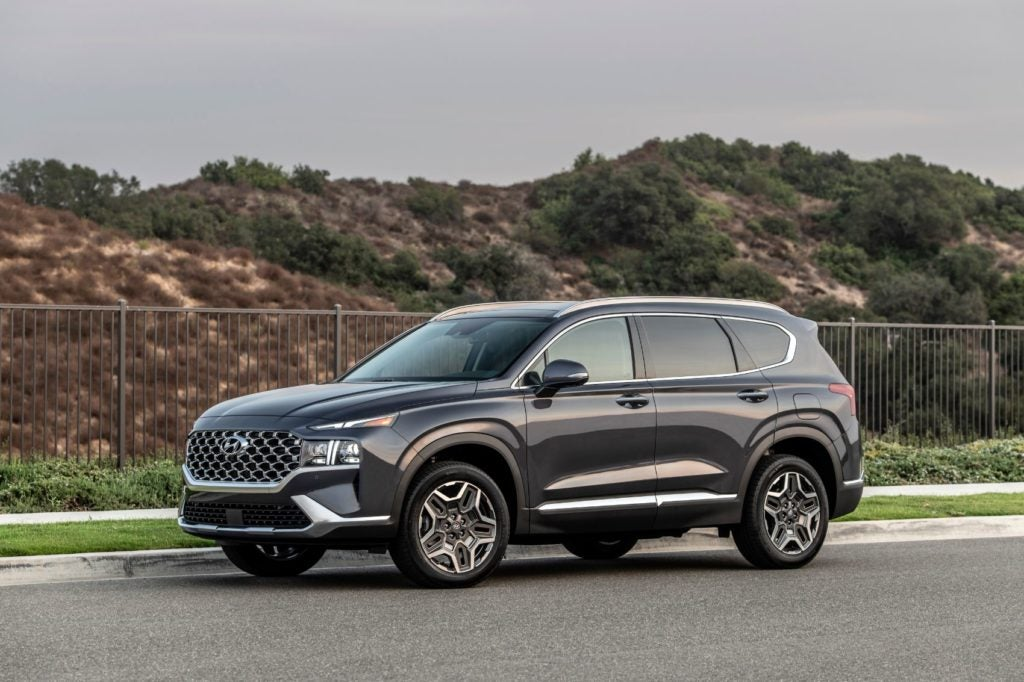 2021 Hyundai Santa Fe Overview: Upgraded Engines, More Creature Comforts & New Trim Levels
