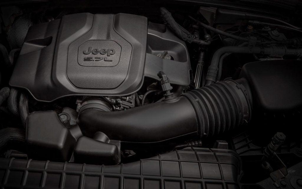 2021 Jeep Grand Cherokee L 5.7-liter V8.