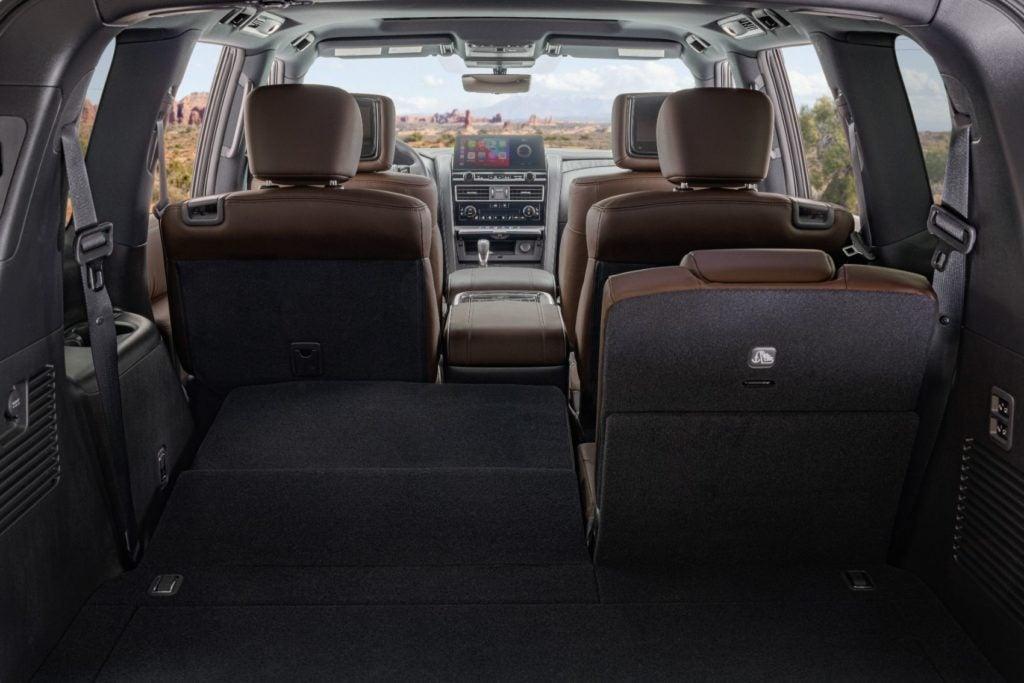 2021 Nissan Armada 40
