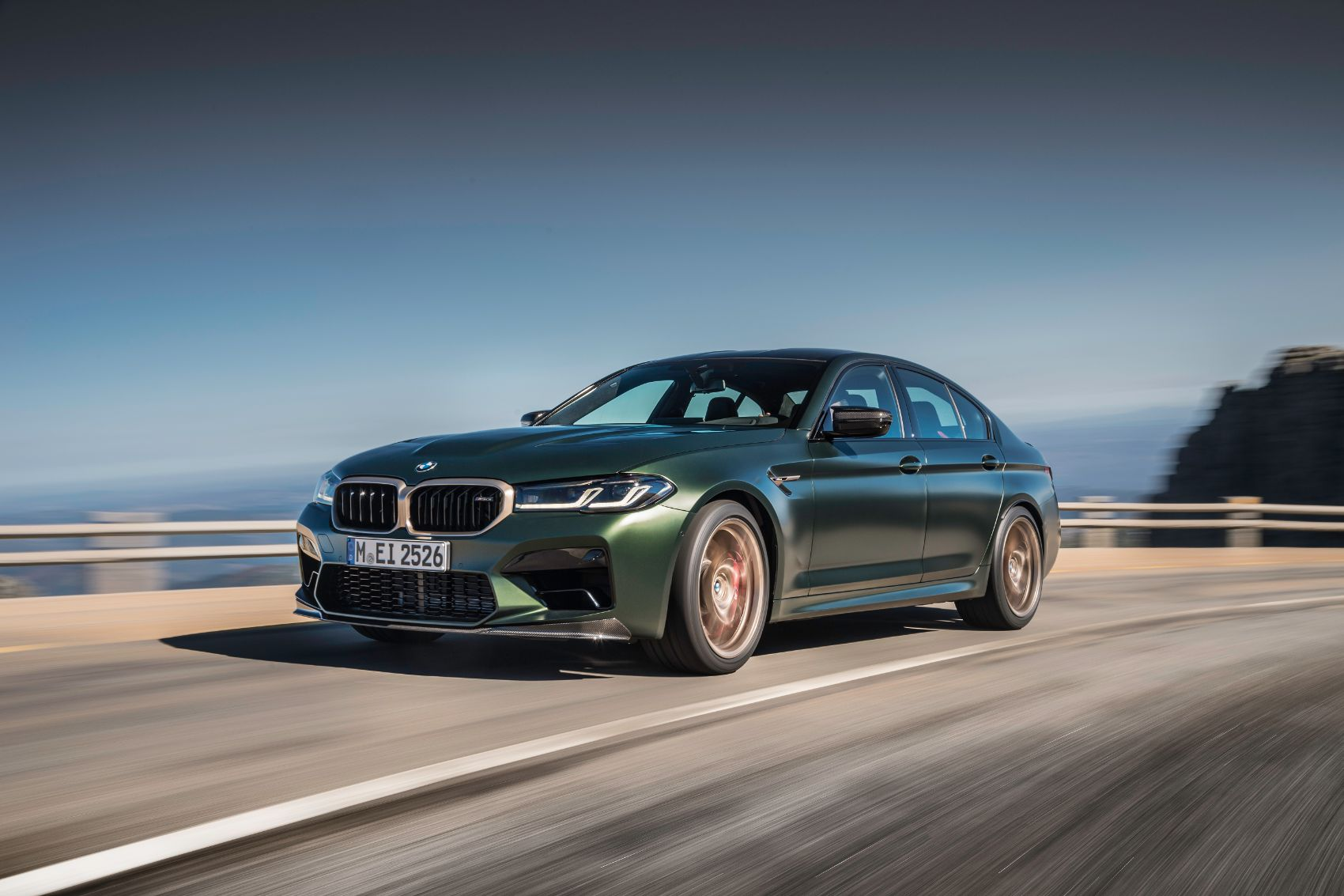 2022 BMW M5 CS Sedan: The Most Powerful BMW Production Vehicle Yet.