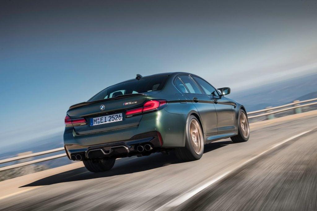 2022 BMW M5 CS Sedan.