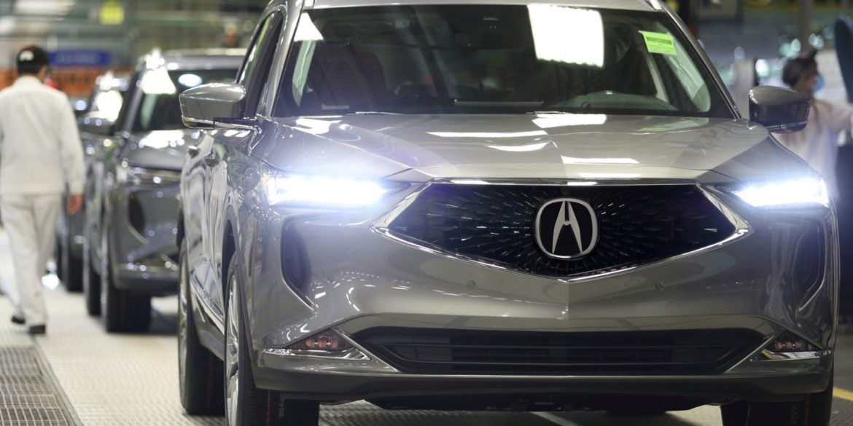 Acura MDX Production 1