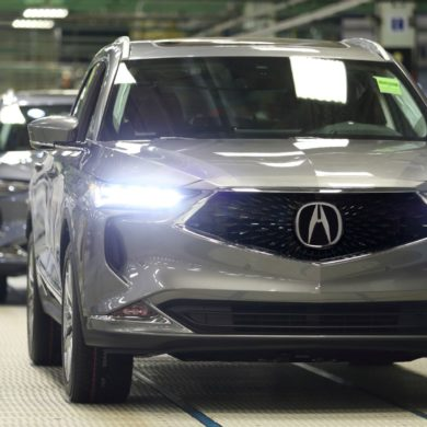 Acura MDX Production 1