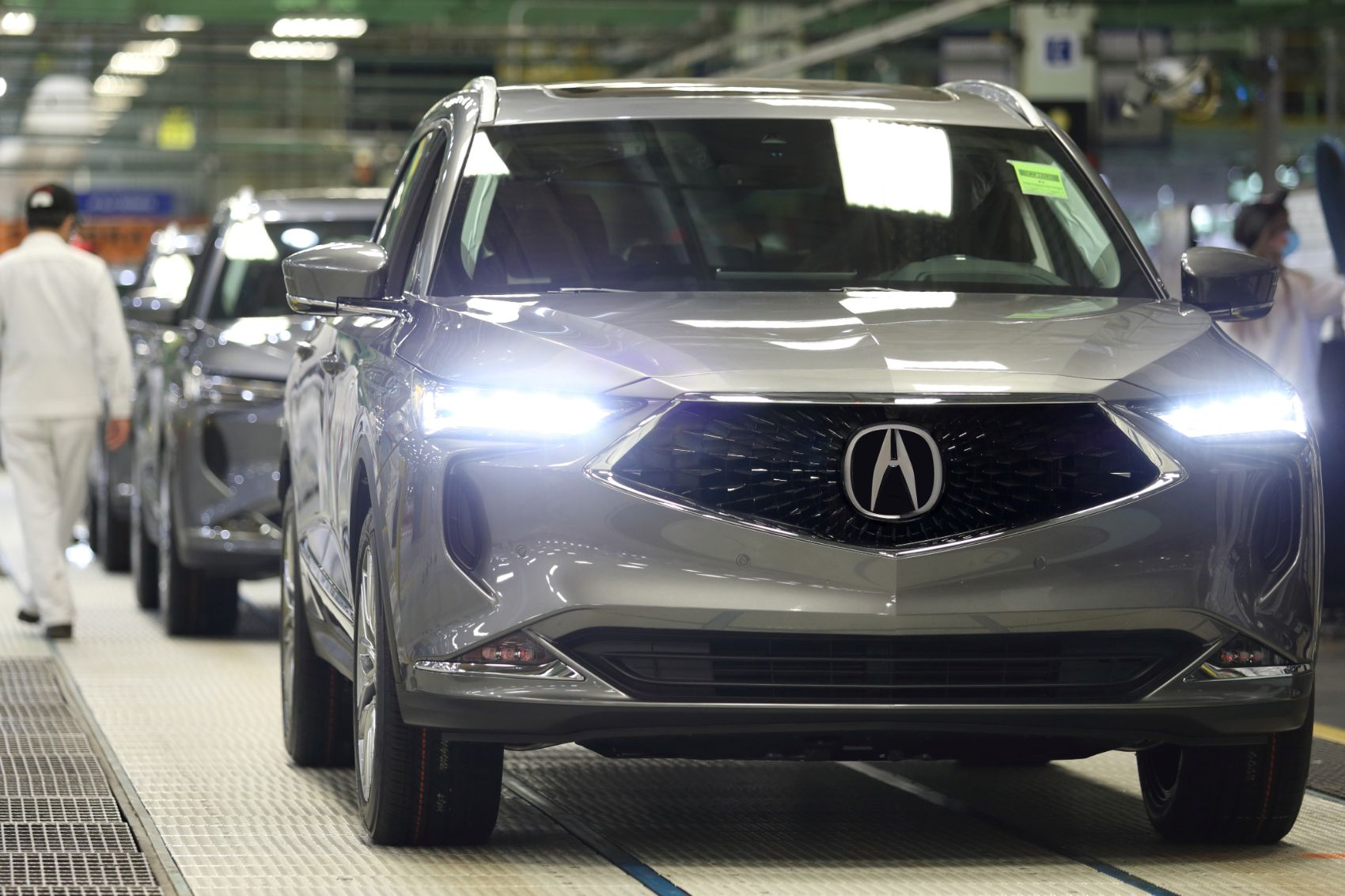2022 Acura MDX Production Underway In Ohio & Will Arrive In February