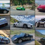 Robert McGowan Porsche Photo Collage