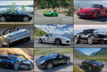 Robert McGowan Porsche Photo Collage